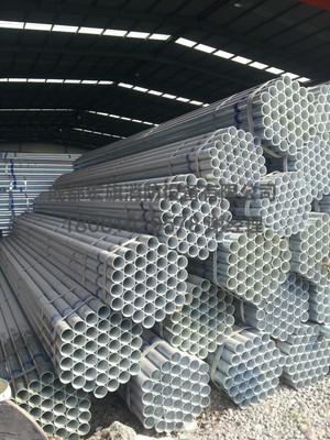 热镀锌钢管 大棚管批发 质量保证