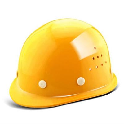高强度玻璃钢安全帽工地透气施工领导安全头盔劳保电力建筑工程帽