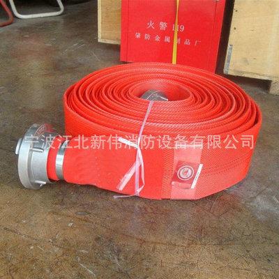 厂家推荐带软管消防水带 消防工程配套水带
