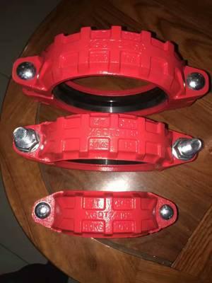 供应消防管件 刚性管卡箍接头 消防卡箍 多种管件生产批发