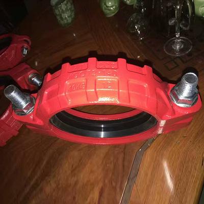 种类齐全卡箍件批发 卡箍件定制 沟槽管件 刚性管卡箍接头