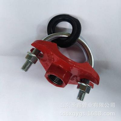 厂家直销 机械三通丝接 沟槽管件批发出口 沟槽机械三通小型号