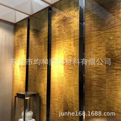 环保天然木皮贴面涂装饰面板 染色木皮装饰板 科 定 K D 免漆板