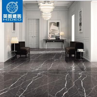 黑色通体600*1200瓷砖 仿石纹理 客厅室内工程地板砖 通体瓷片砖