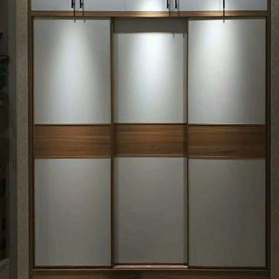 厂家直供平移门 可按颜色尺寸定做经济型实木定制衣柜门