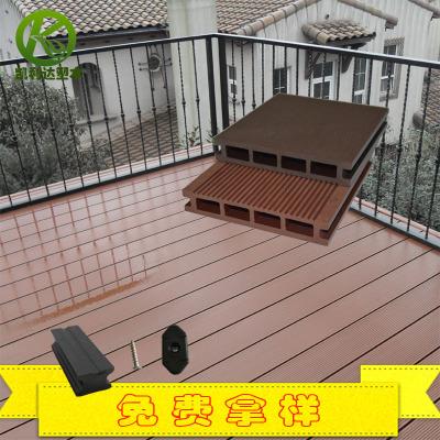 木塑空心地板kld-140h30 景观装饰建材 pe塑木地板建材厂家直销