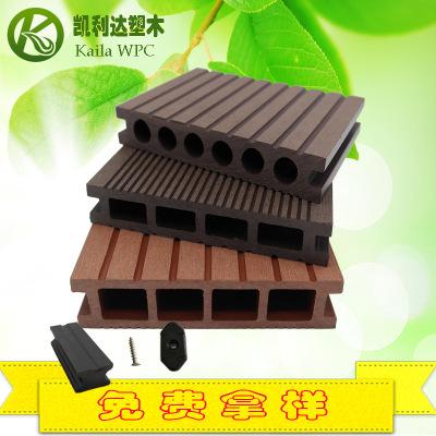 塑木建材户外塑木空心地板 源头厂家供应景观塑木地板