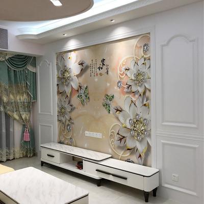 定制护墙板电视背景墙白色吸塑板集成墙面沙发床头背景墙免漆