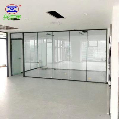 供应办公室高隔断 高隔断铝型材 钢化玻璃高隔断