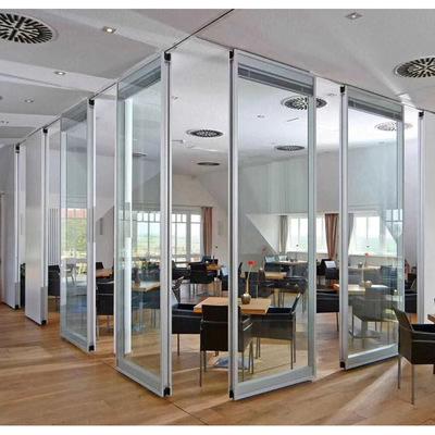 深圳赛勒尔活动玻璃隔断/全框/无框/隐框移动活动折叠玻璃隔断墙
