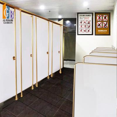 爆款卫生间隔断公共洗手间隔板防潮隔断铝合金蜂窝厕所隔断板定制