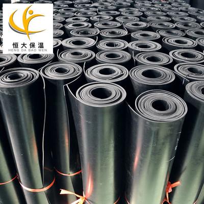 H河北销售黑色橡胶板机械减震防滑 阻燃橡胶垫工业黑色橡胶板