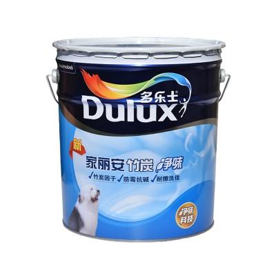 多乐士家丽安竹炭净味墙面乳胶漆环保涂料18L哑光A8600-65016N