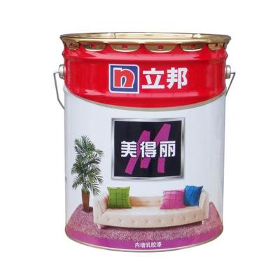 立邦美得丽内墙乳胶漆 墙面装饰油漆 室内墙涂料白色17L易施工