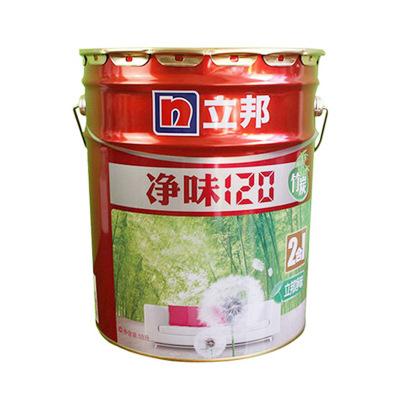 立邦乳胶漆 净味120竹炭二合一快速*添加内墙漆 白色面漆18L