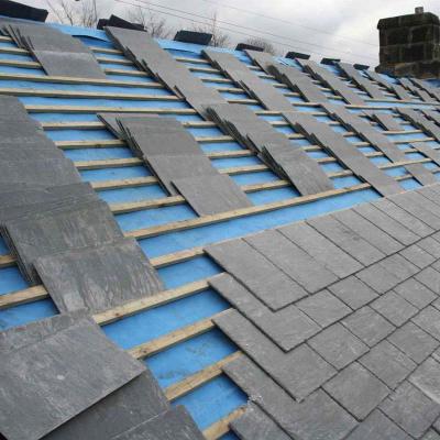 供应青石板瓦板别墅屋顶瓦片 城堡复古防水瓦板隔热文化石平方价