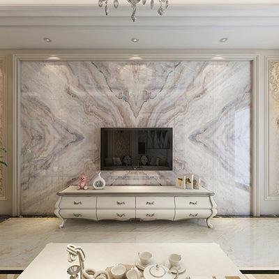 电视背景墙欧式客厅餐厅沙发卧室石材瓷砖高温微晶石护墙板背景墙
