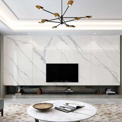 现代简约陶瓷大板薄板1200x2600瓷砖大板岩板背景墙大理石影视墙