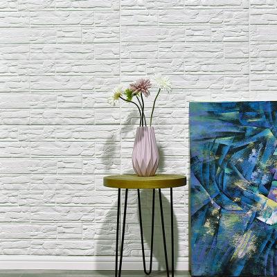 文化石自粘贴纸3d立体环保软包墙贴客厅电视背景墙防水仿砖纹墙纸