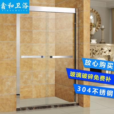 淋浴房隔断 整体淋浴房 酒店公寓卫浴房 玻璃淋浴室简易洗澡房
