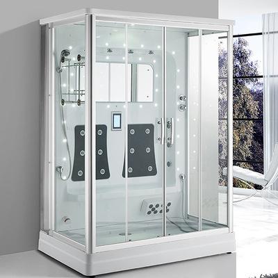 酒店别墅豪华蒸汽房干湿蒸一体式整体淋浴房隔断独立式整体卫生间
