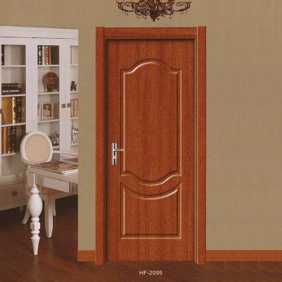 定制室内门原木色免漆门简约卧室套装门出租房酒店工程门厂家