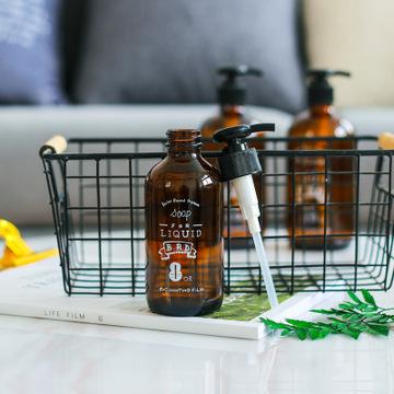 【碧朗9906】北欧ins风洗手液瓶皂液空瓶洗发水护发素按压瓶摆件