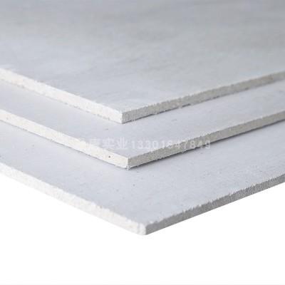 美林玻镁防火板8mm隔墙吊顶板材A1级防火衬板铝塑板打底板包柱子