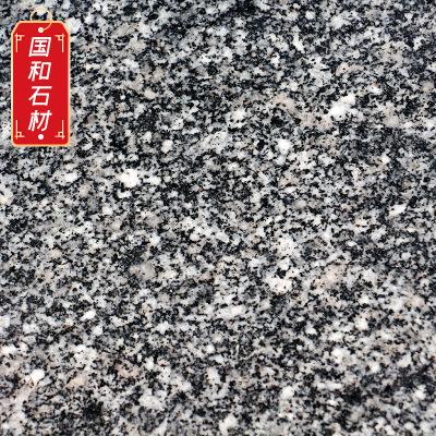 现货花岗岩芝麻黑火烧板 3公分黑色工程火烧板安装 芝麻黑石材厂