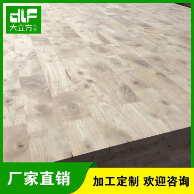 橡胶木直拼板专业供应 橡胶木齿接板 泰国橡胶木板批发橡胶木