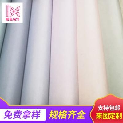仿真丝(竹节布)素色无缝墙布 酒店客厅卧室墙纸纯色墙布批发