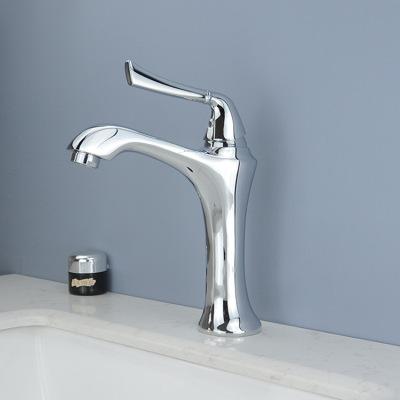铜冷热面盆水龙头 浴室洗脸盆冷暖水龙头