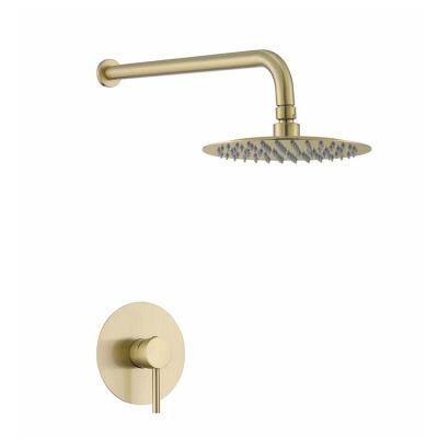 暗装入墙式淋浴花洒浴室酒店卫生间冲凉淋浴花洒嵌入式