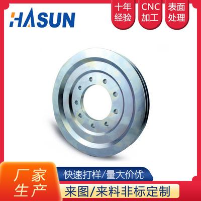 铸铁起重滑轮 电机断桥滑轮 轨道滑轮 U型槽滑轮配件加工定制