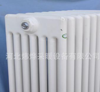 钢七柱散热器直销 工业用高热量暖气片 钢管暖气片直销