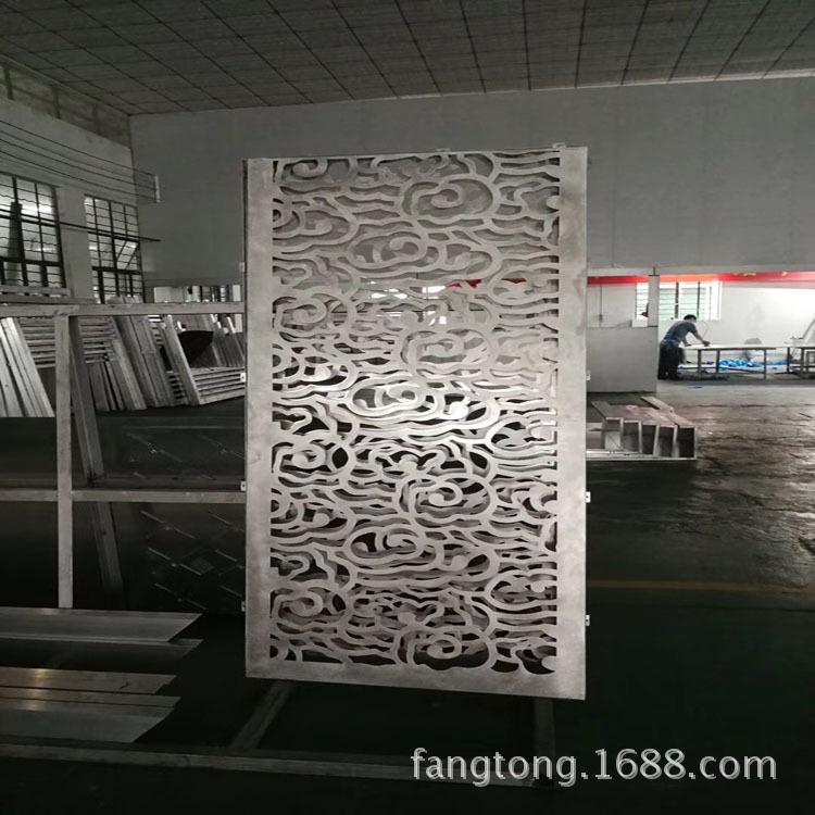中式铝单板雕花 冲孔铝单板幕墙 门头雕花铝单板