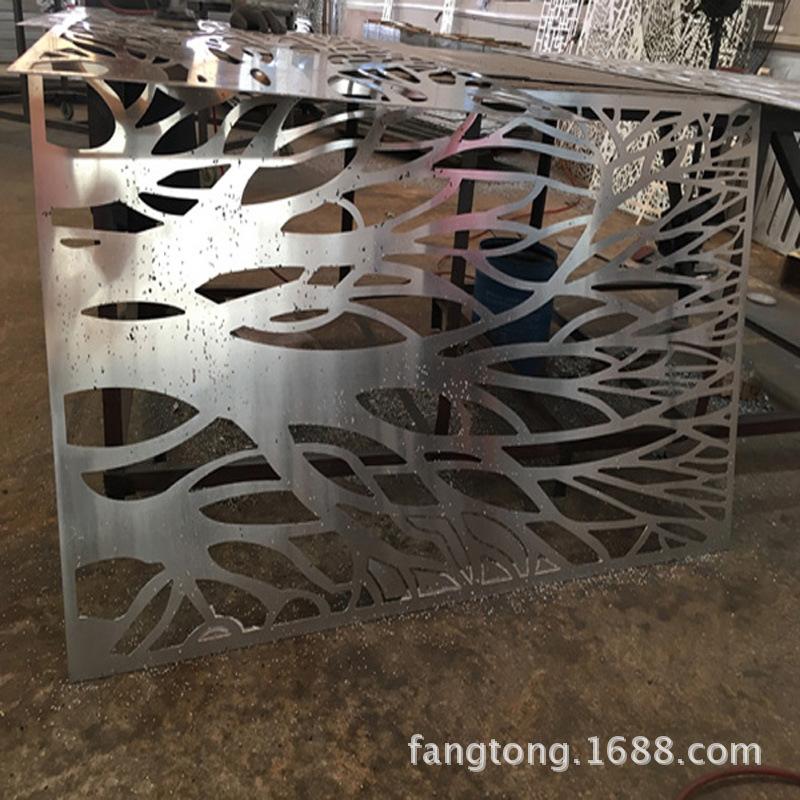 镂空雕刻铝单板 冲孔铝单板 雕花铝单板生产厂家
