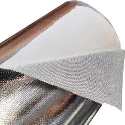 长输热网用耐温阻燃反辐射矿物棉隔热贴面材料铝箔玻纤布