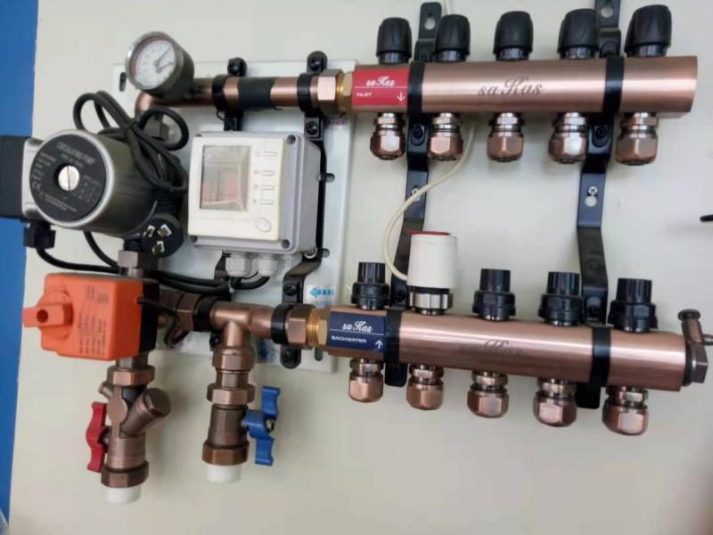 地暖用混水中心增强热水循环