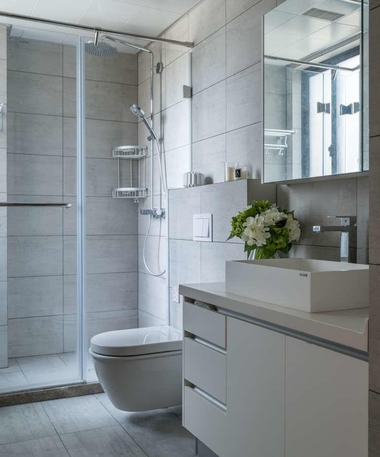 150平黑白灰装修风格 简单却能彰显出温馨感效果超赞!