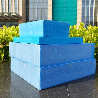 蓝色阻燃挤塑板 b1级屋面保温挤塑聚苯板 xps外墙地暖隔热挤塑板