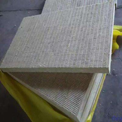 B阻燃岩棉防火板 外墙保温隔热防水岩棉板 100mm厚80K岩棉复合板