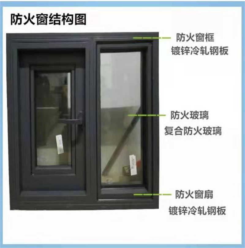 钢质隔热防火窗GFC1821DA1.00乙级